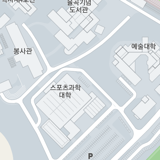 Campus Map - 단국대학교
