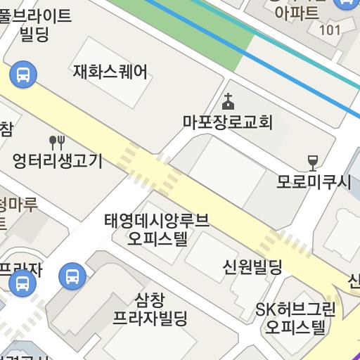 Seoul Subway Map 1989.En Glad Mapo