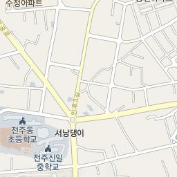 Bus Service Information JeonJu City Transport Operation - Jeongju map